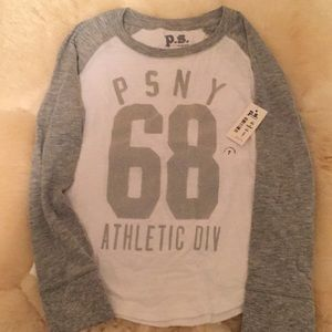 Brand new long sleeve girls tshirt size 7